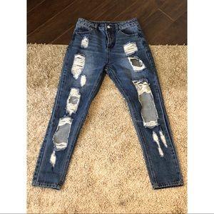 Boyfriend jeans - Medium wash